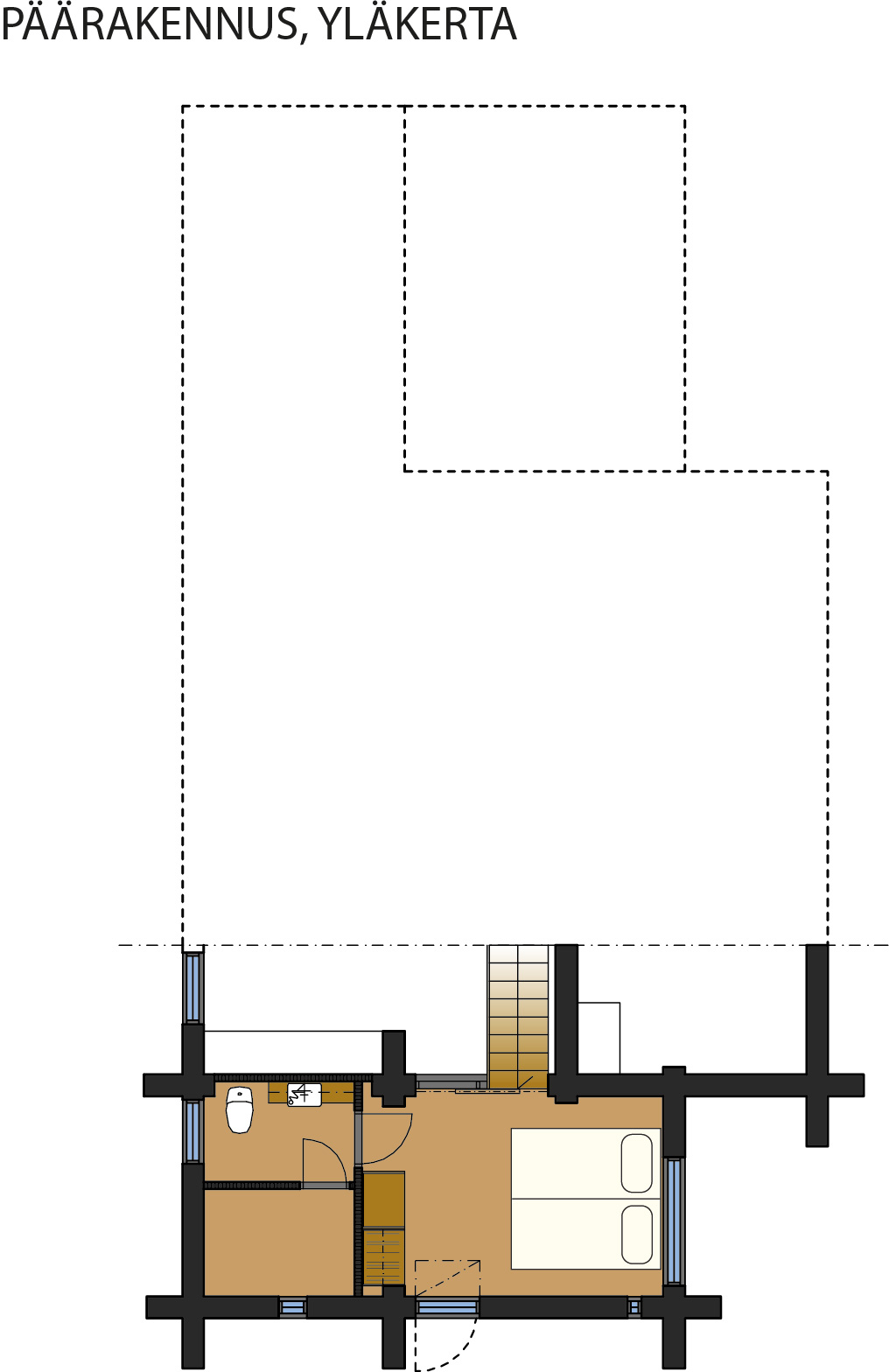 Main building Layout of 2nd floor